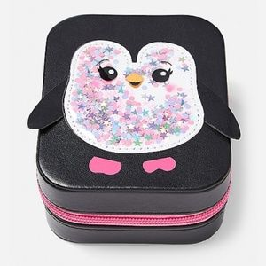 Penguin Jewelry Case ($40 minimum)